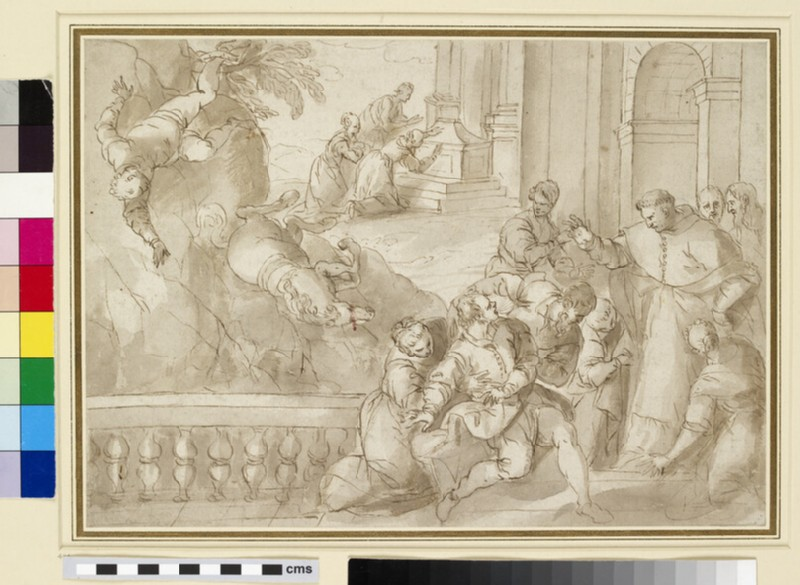 Miracle of St Charles Borromeo