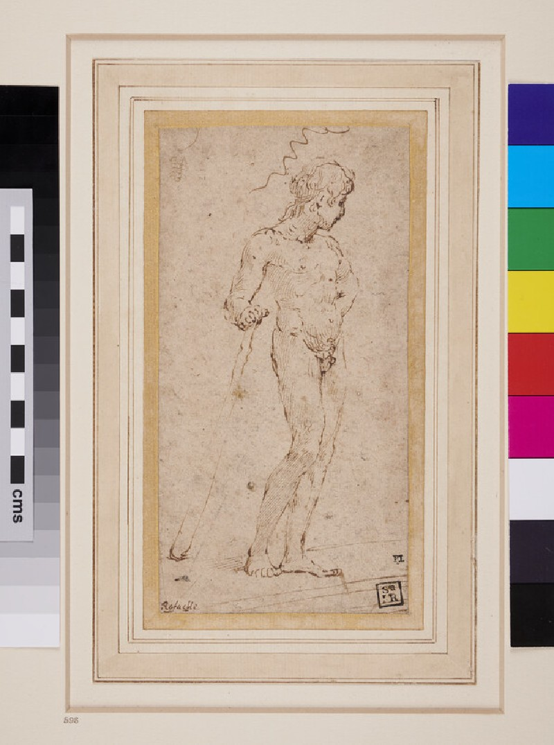 Study of a nude Youth (WA1863.670, recto)