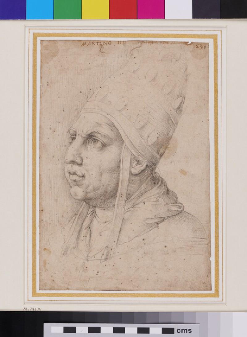 Pope Martin IV as Pope Leo X
