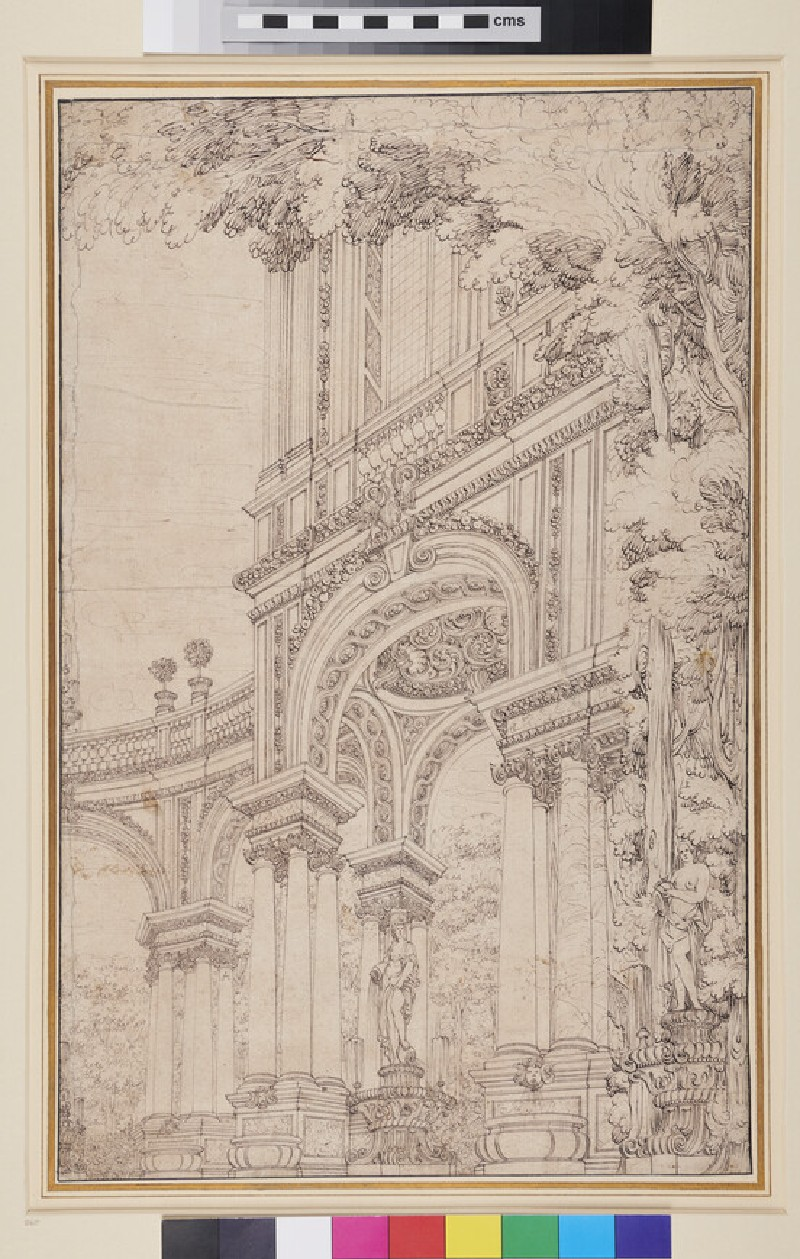 Architectural Fantasy (WA1863.733, recto)