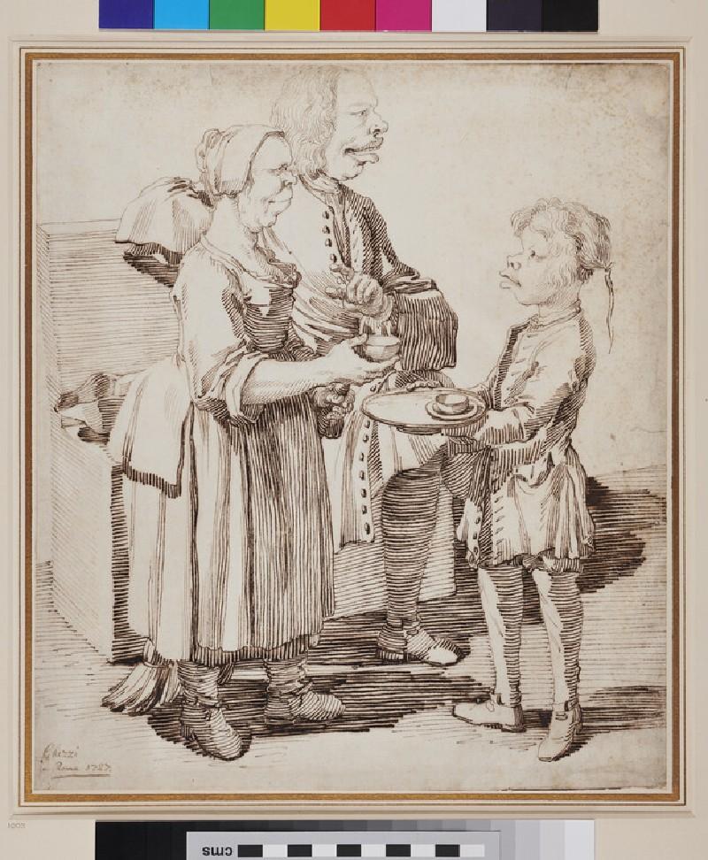 Gentleman and his two Servants