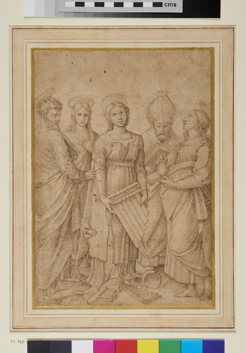 St Cecilia (after Raphael)