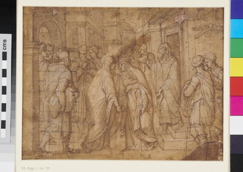 The Visitation (WA1863.817, recto)