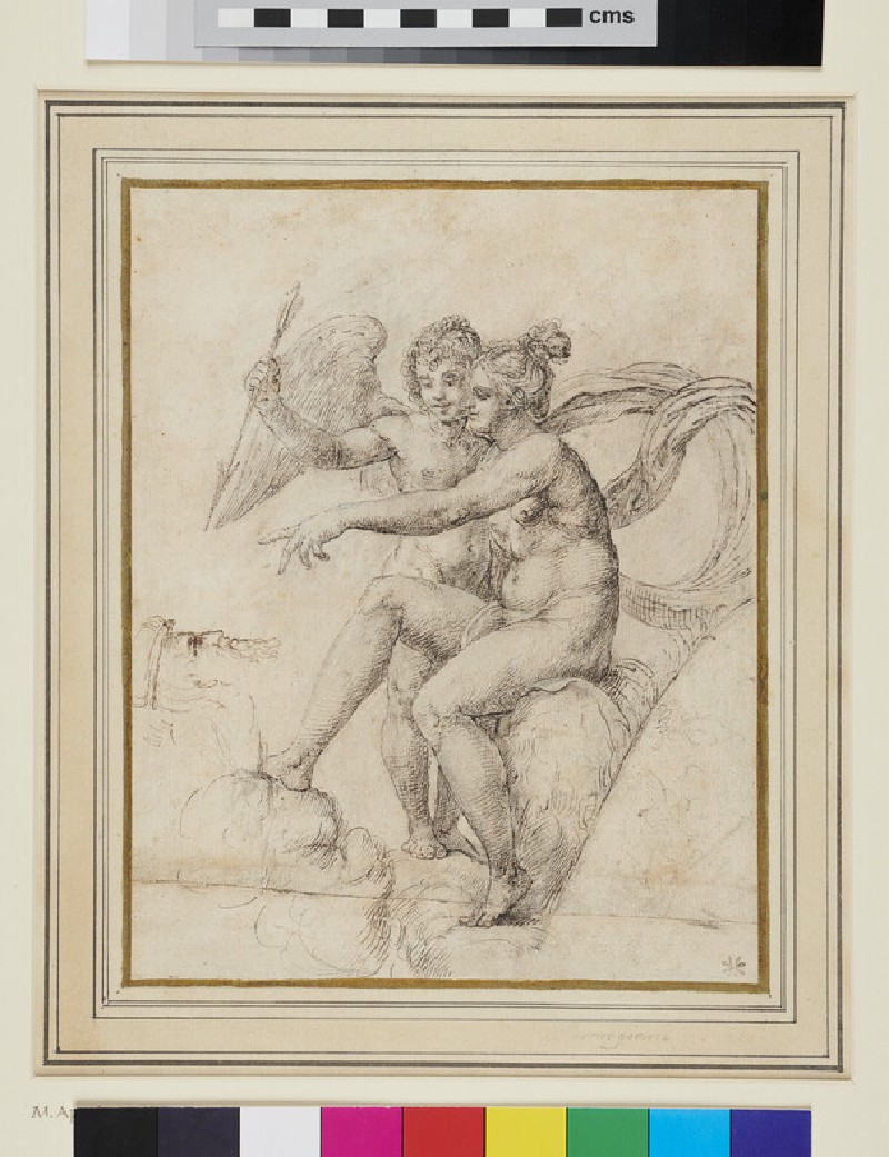Venus and Cupid (WA1863.822, recto)