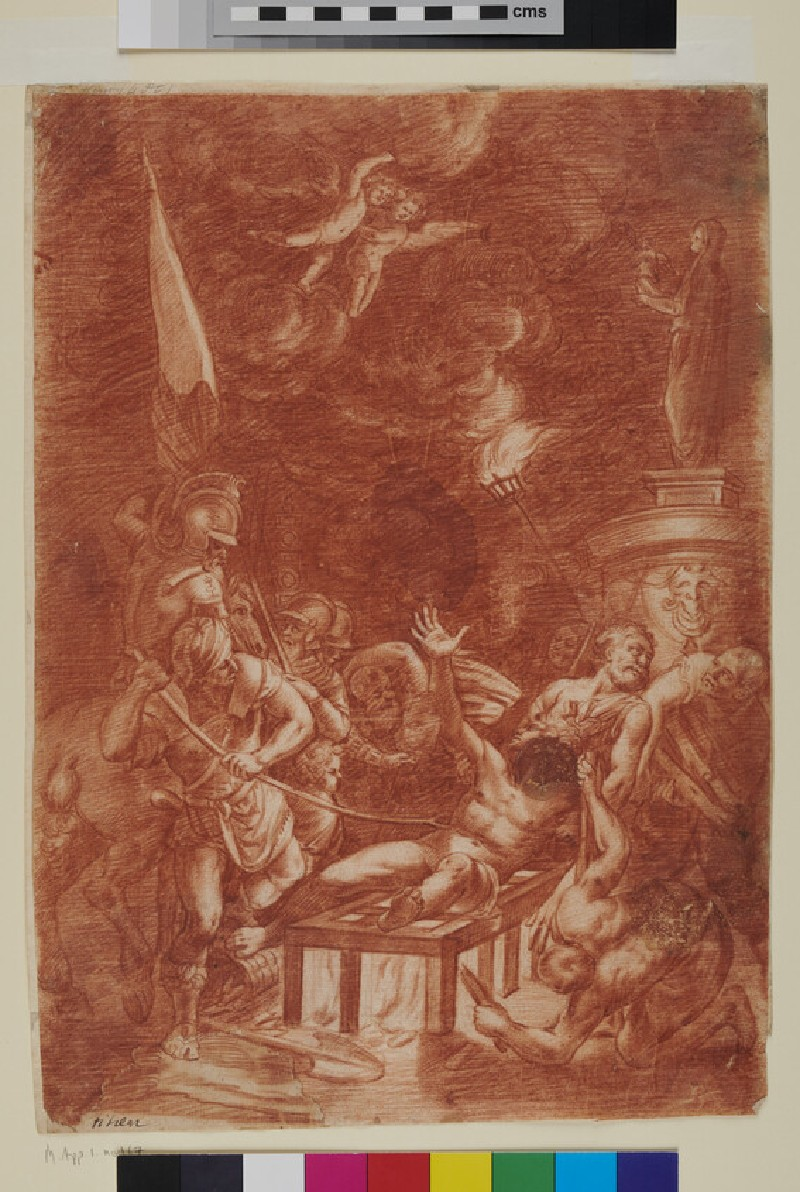 The Martyrdom of St Lawrence (verso)