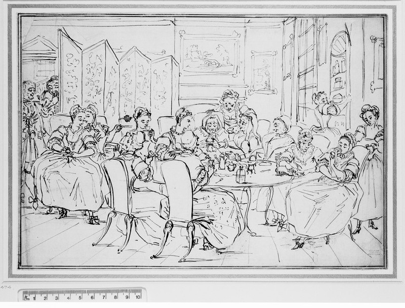 A tea party (WA1863.86)