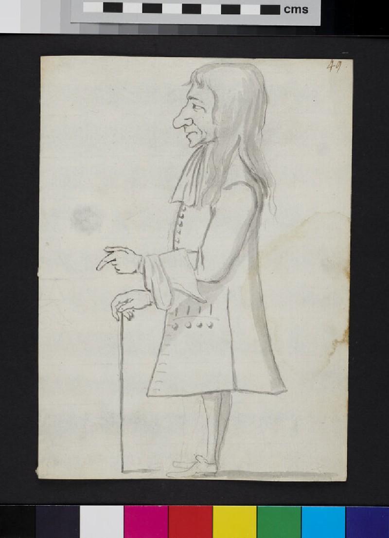 Caricature (WA1863.967, verso)