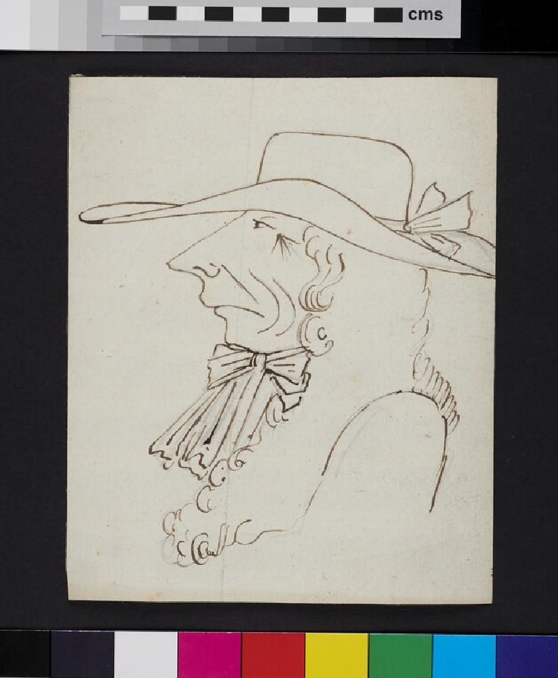 Caricature (WA1863.980, verso)