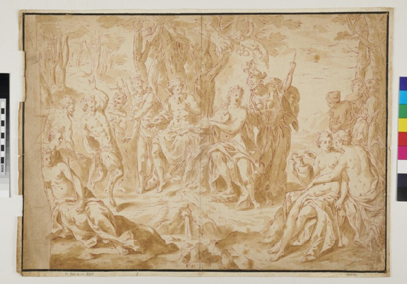 The Judgement of Midas (WA1863.986, recto)