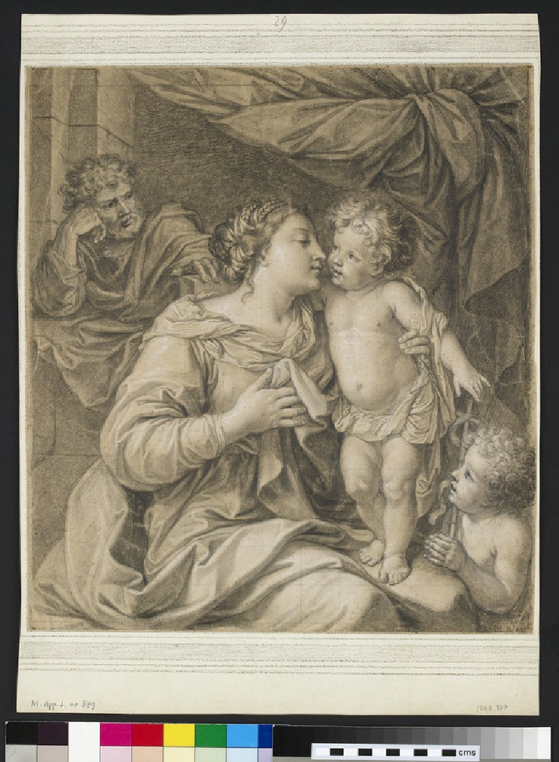 The Holy Family with the St John the Baptist