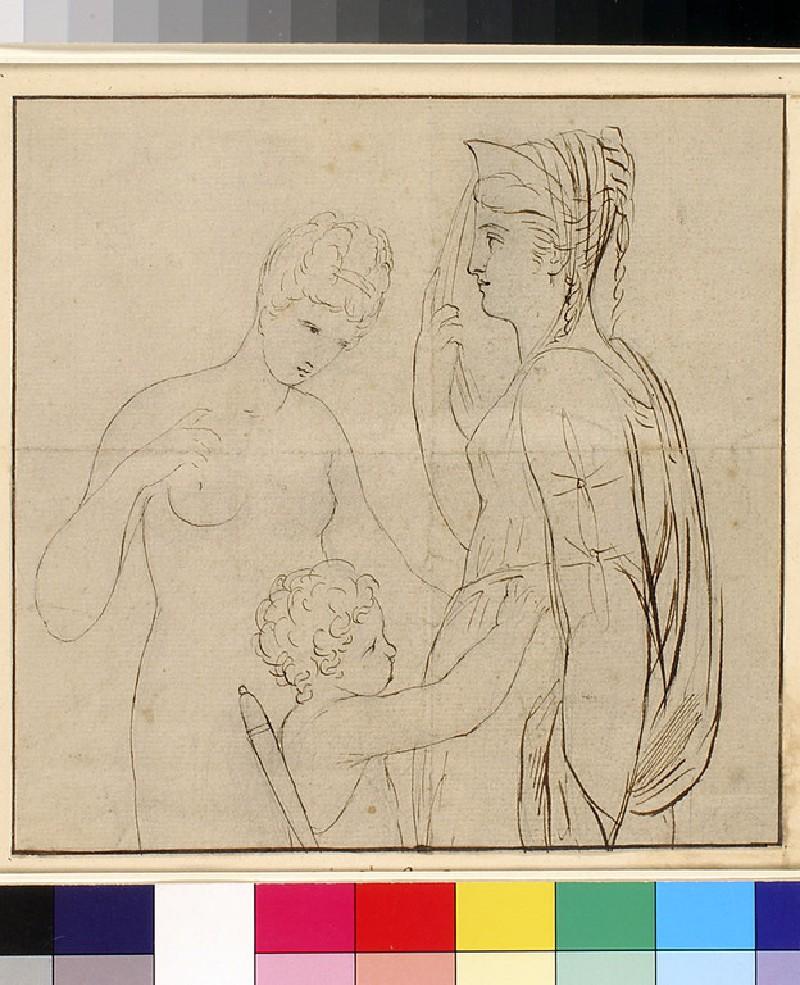 Venus, Cupid and Minerva