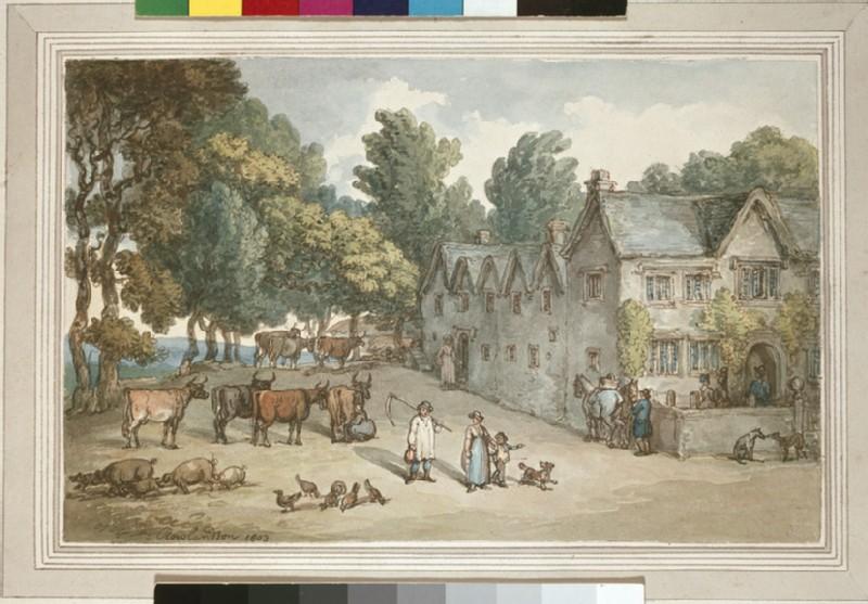 A Farmhouse at Hengar, Cornwall (WA1863.1163)