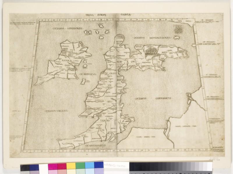 Map of the British Isles (WA1863.1600)