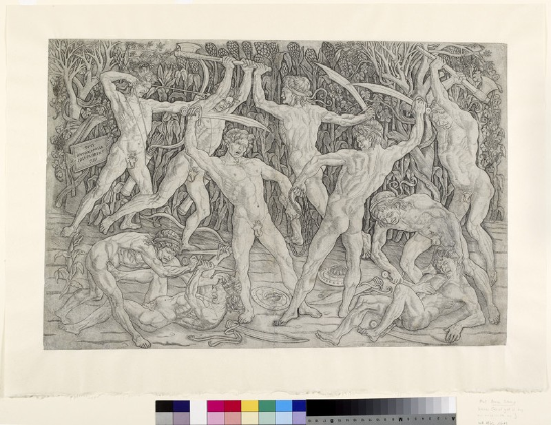 Battle of Nude Men (WA1863.1609)