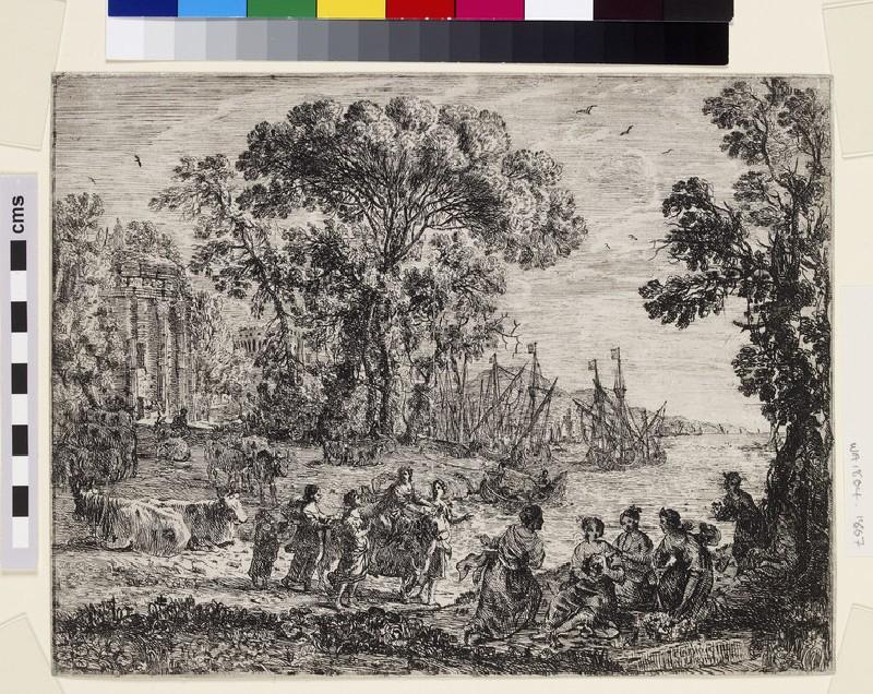 L'Enlèvement d'Europe (The Rape of Europa) (WA1863.1867)