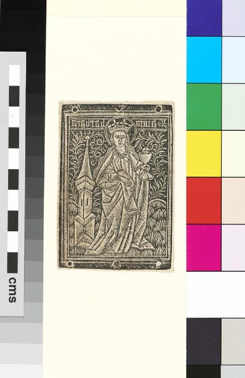 Saint Barbara (WA1863.1957)