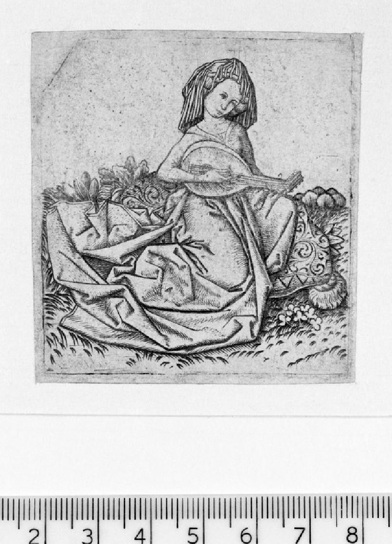 Woman playing the lute (WA1863.1987)