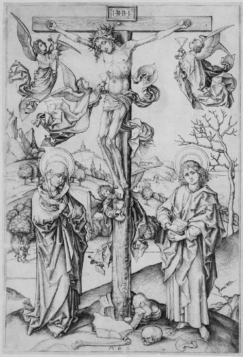 The Crucifixion with four Angels (WA1863.2138)