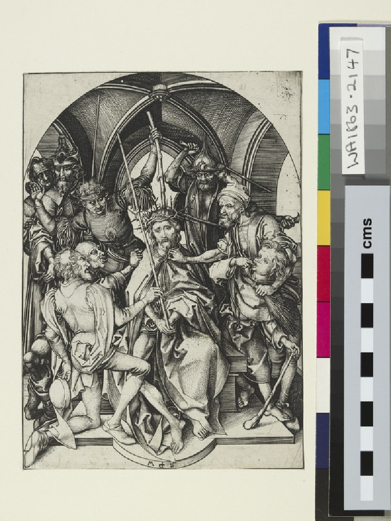 Christ crowned with thorns (WA1863.2147)
