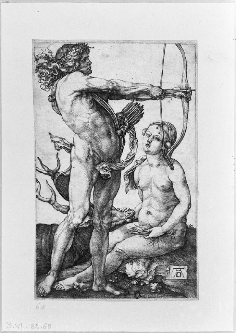 Apollo and Diana (WA1863.2315)