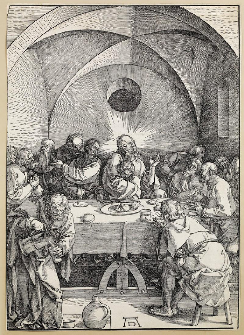The last supper (WA1863.2436)