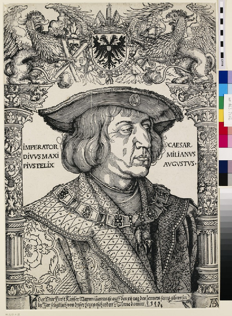 Portrait of Emperor Maximilian I (WA1863.2582)