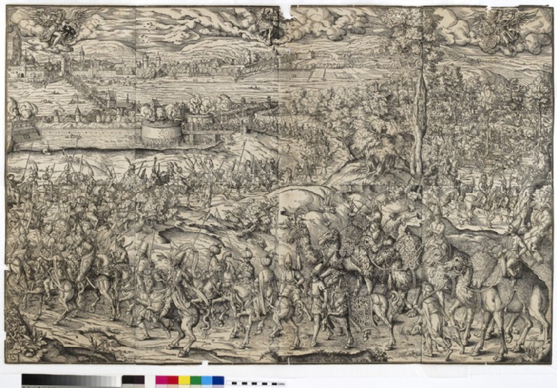 Arrival of the Turkish Embassy at Frankfurt for the Election of Maximilian II as King of the Romans, on 22 November 1562