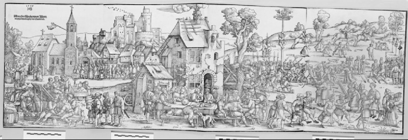 The Large Village Fair (WA1863.3080)