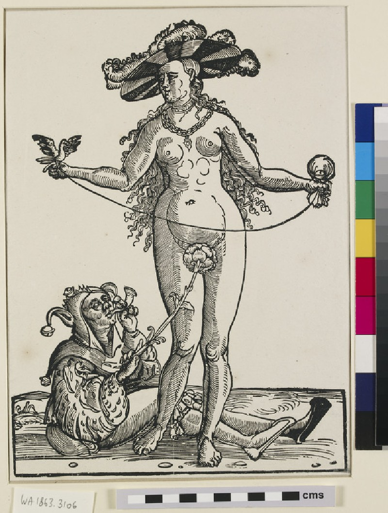 The prostitute and the fool (WA1863.3106)