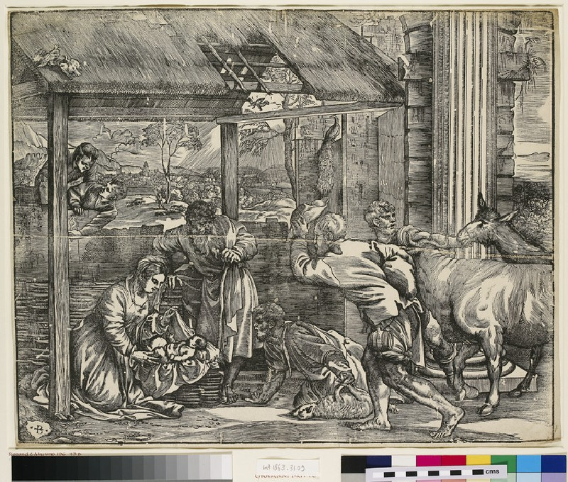 The adoration of the shepherds (WA1863.3109)