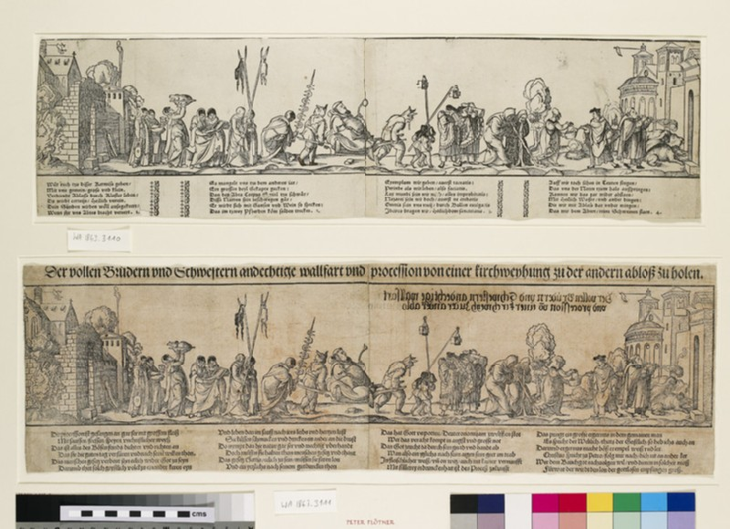 Satirical pilgrimage of Friars and Nuns