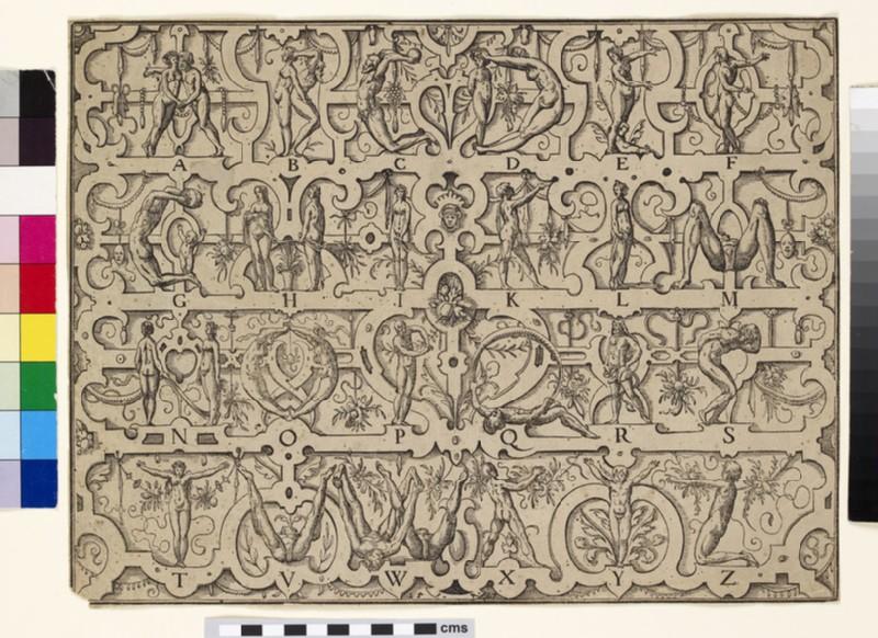 Human alphabet (WA1863.3791)