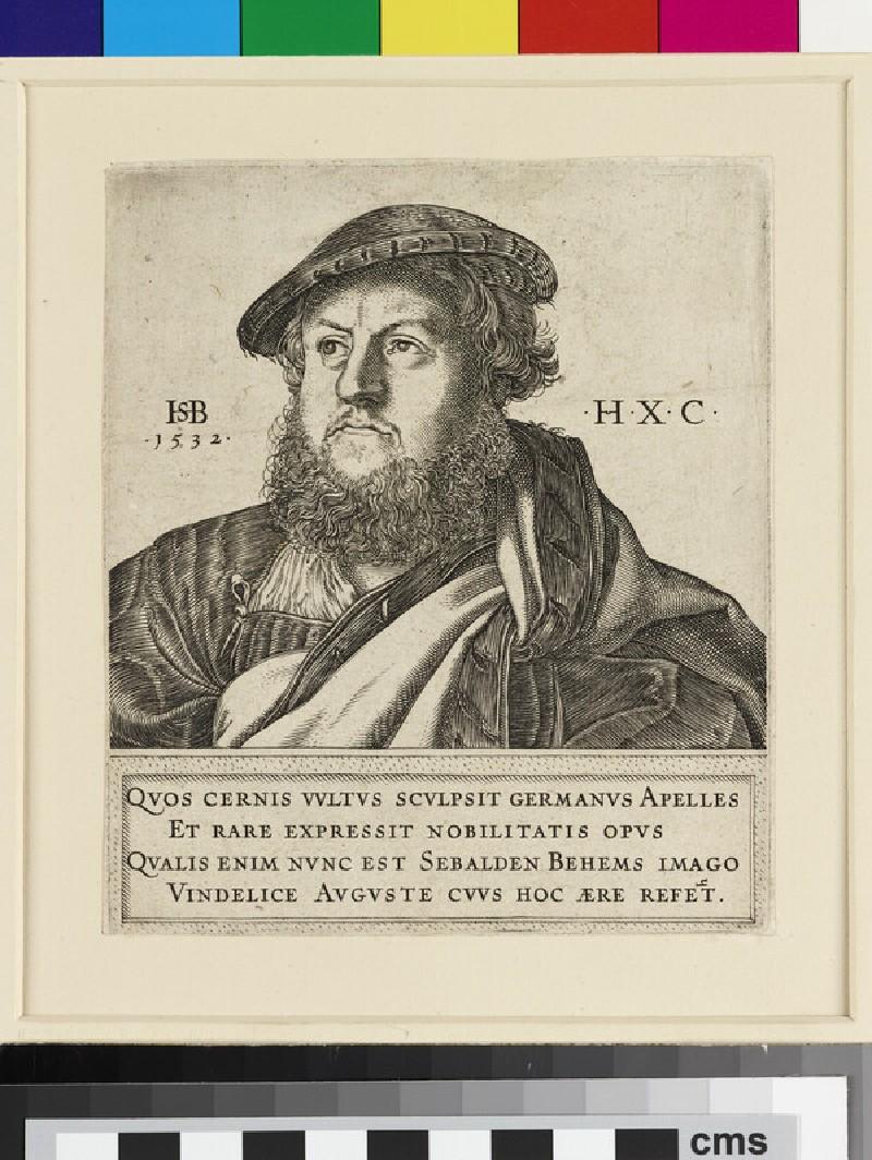 Portrait of Joachim Hoechstetter, copy in reverse