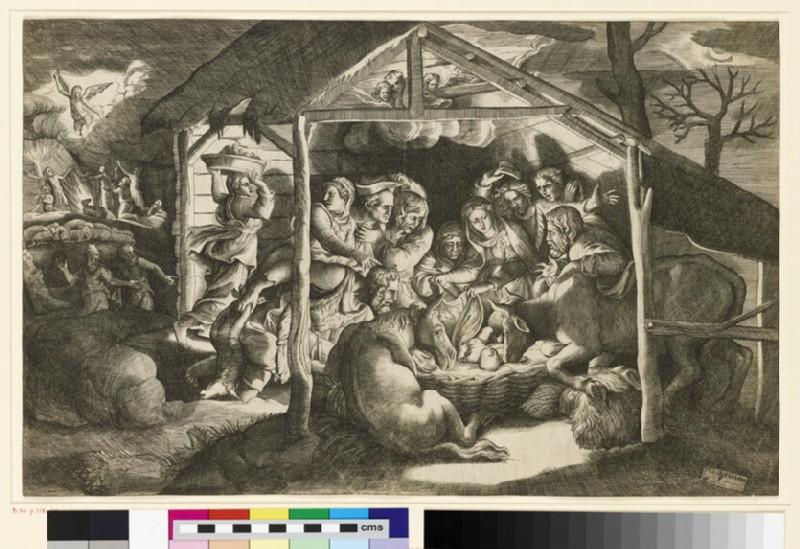 The Adoration of the Shepherds (WA1863.3945)