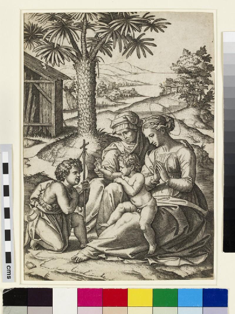 The Virgin of the Palm Tree (WA1863.5306)