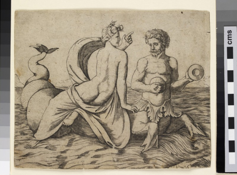 A Triton carrying a Nereid (WA1863.5324)