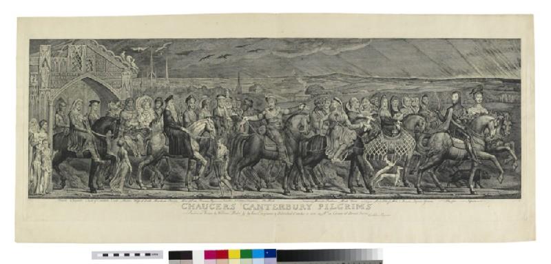 Chaucer's Canterbury Pilgrims (WA1863.5480)