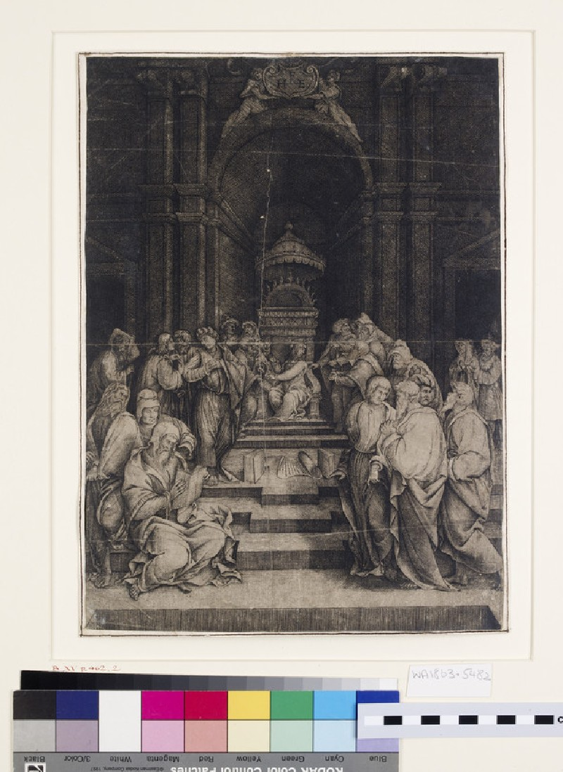 Christ among the Doctors in the Temple (WA1863.5482)