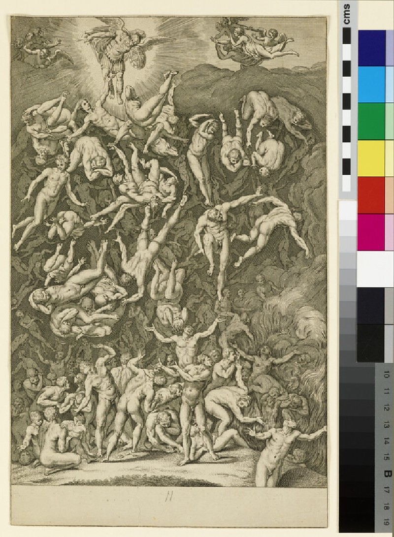 The Fall of the rebel Angels (WA1863.5485)