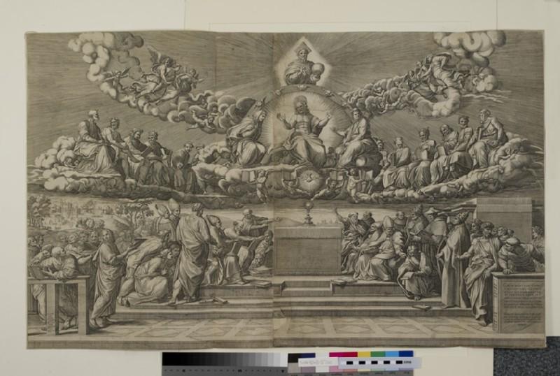 The Disputation of the Holy Sacrament (WA1863.5760)
