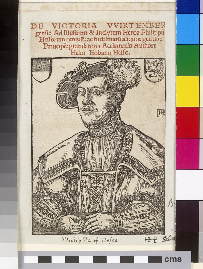 Portrait of Langrave Philipp I of Hesse