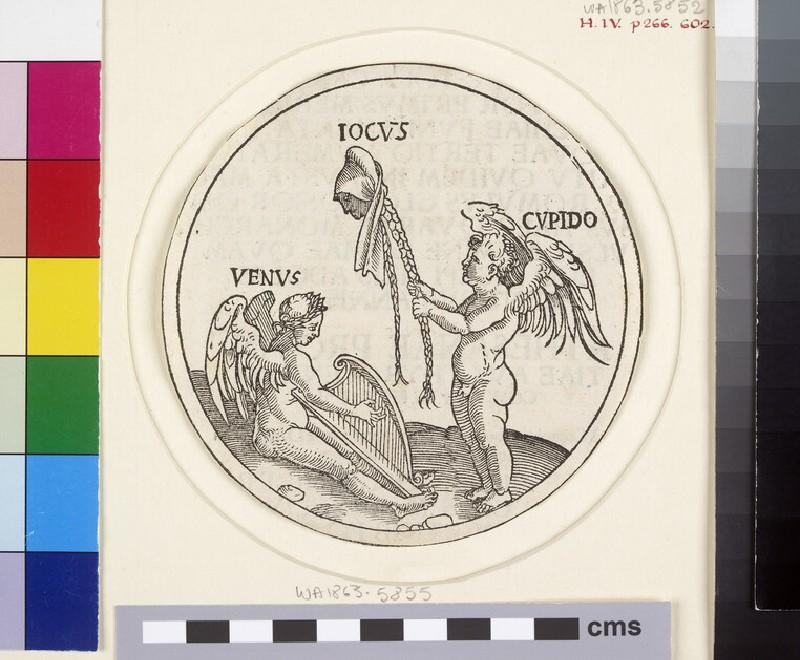Venus, Cupid and Iocus