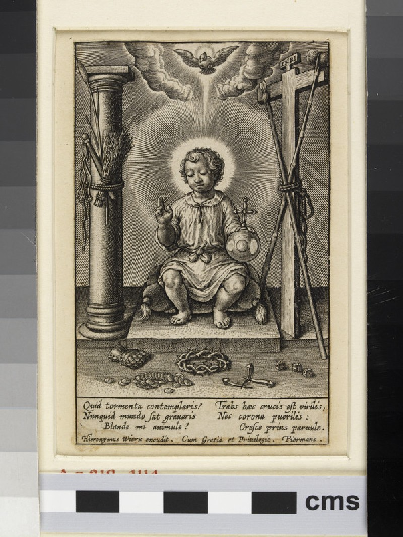 The Infant Jesus surrounded by the instruments of the Passion (WA1863.6639)