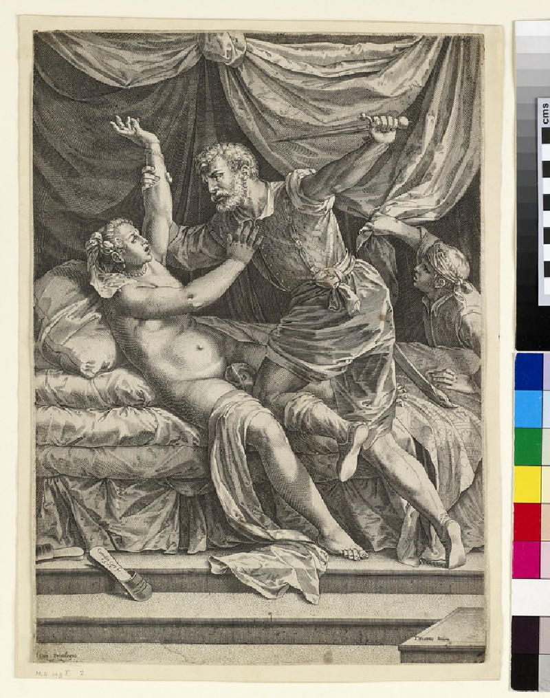 The Rape of Lucretia (WA1863.6644)