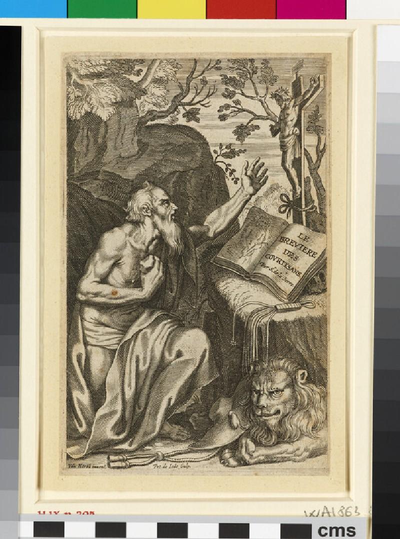 Title-page to Le Bréviaire des courtisans