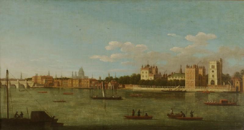 The Thames at Lambeth (WA1870.2)