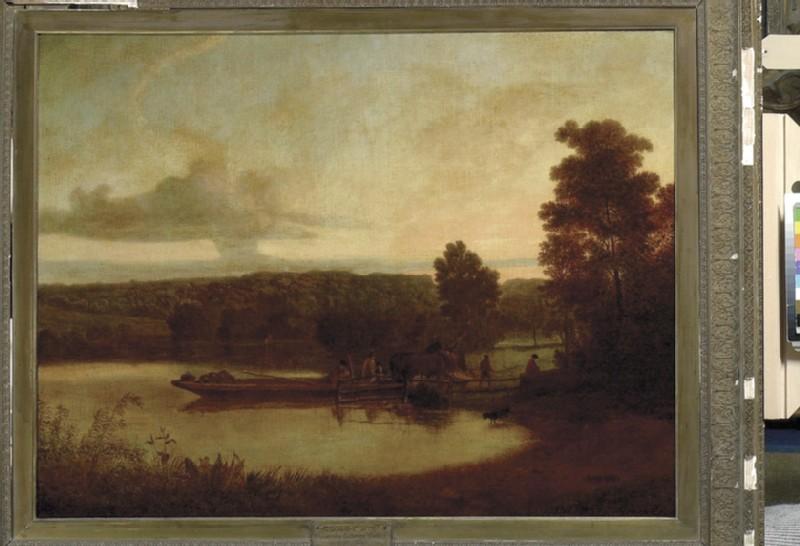Horse-ferry: Sunset (WA1879.1)