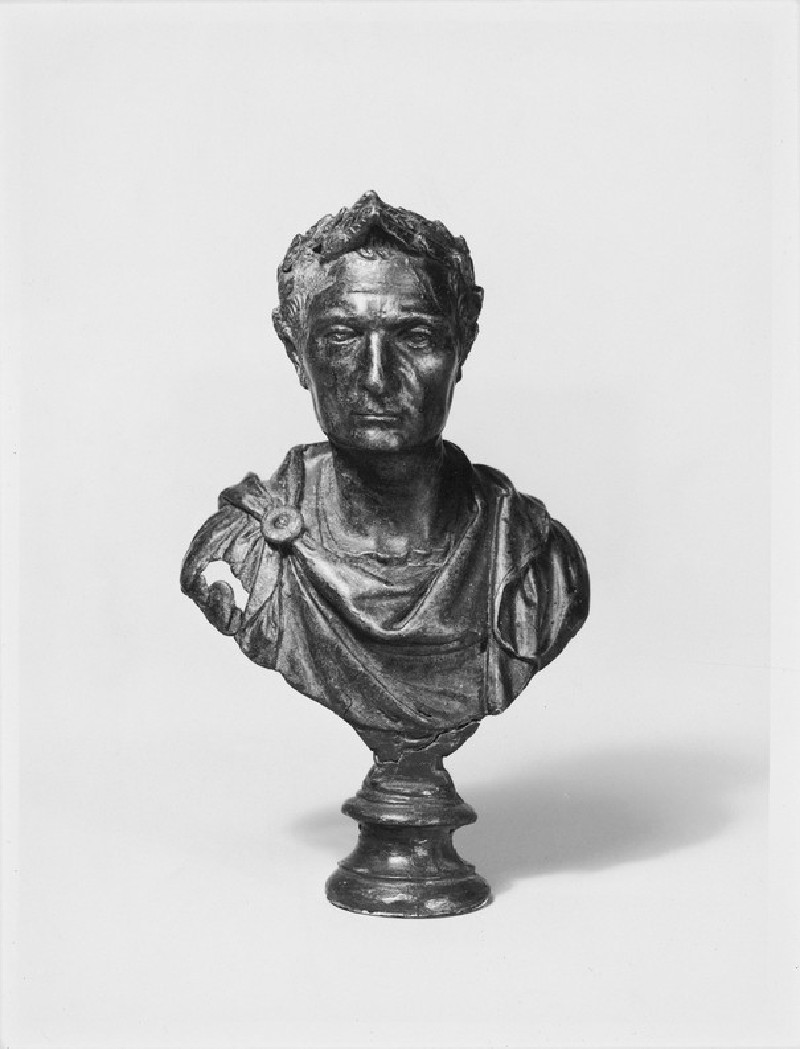 Bust of a Roman possibly Julius Caesar