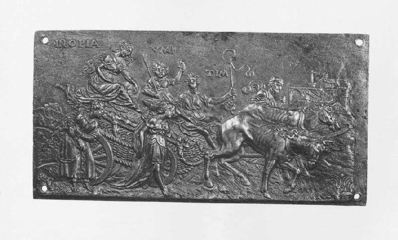The Triumph of Penury (or Want) (WA1888.CDEF.B649)