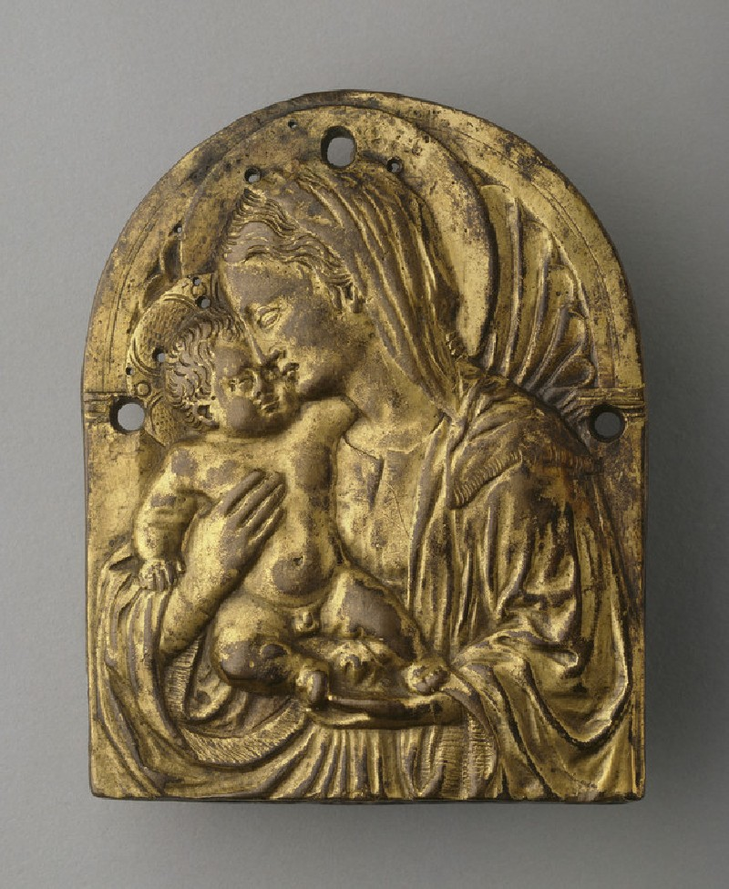 The Virgin and Child before a niche